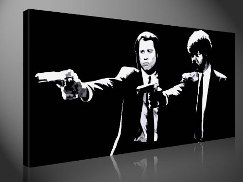 Canvas picture - PULP FICTION CLASSIC - Foto print, by Tom Harris ...