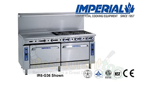 Amazon.com: Imperial Commercial Restaurant Range 48\