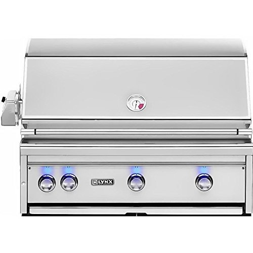 Lynx L36ASR-LP All Pro Sear Built-In Propane Gas Grill wi...