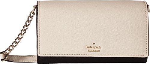 Kate Spade New York Women's Cameron Street Corin Cross Body Bag, Tusk/Black, One Size