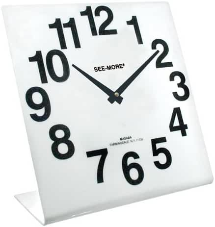 Reizen Giant View Clock- White Face by Reizen