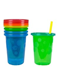 The First Years Take & Toss Spill-Proof Straw Cups - 10Oz, 4 Pack BOBEBE Online Baby Store From New York to Miami and Los Angeles