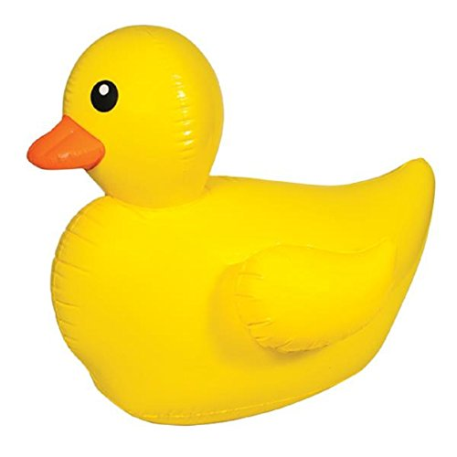 Giant Inflatable Rubber Ducky Duck Beach Pool Float Outdoor Fun Toy