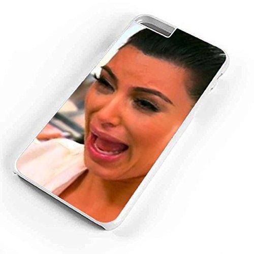 Kim Kardashian Crying Face iPhone 6S Plus Case White