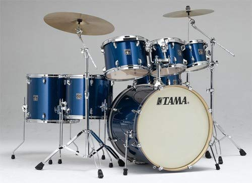 Tama CK72S Superstar Classic 7-piece Shell Pack - Indigo Sparkle