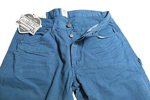 CARHARTT pantalons pour hommes modèle MERCURY HALETER slim fit bleu