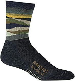 product image for Farm to Feet Unisex-Adult Max Patch Lightweight Technical 3/4 Crew