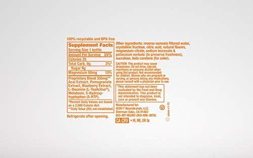 Neuro SLEEP Tangerine Dream, 14.5 Fl Oz (Pack of 12) (Packaging May Vary)