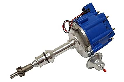 amazon com for sbf ford small block 260 289 302 hei ignition blue  for sbf ford small block 260 289 302 hei ignition blue cap distributor w 65k