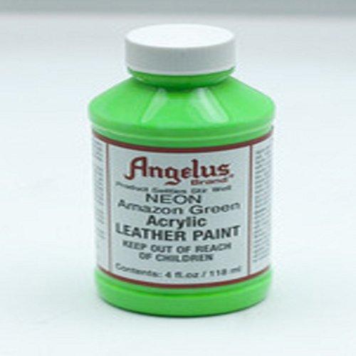 Angelus Acrylic Paints Neon 4 Oz Color - Amazon Green