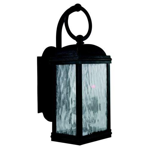 Sea Gull Lighting 88191-802 Branford Outdoor Wall Sconce, Obsidian Mist - Obsidian Mist
