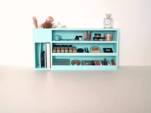 Makeup Organizer, Wall Mounted Makeup Shelf, Bathroom Shelves, Cosmetic  Display, Cosmetic Storage