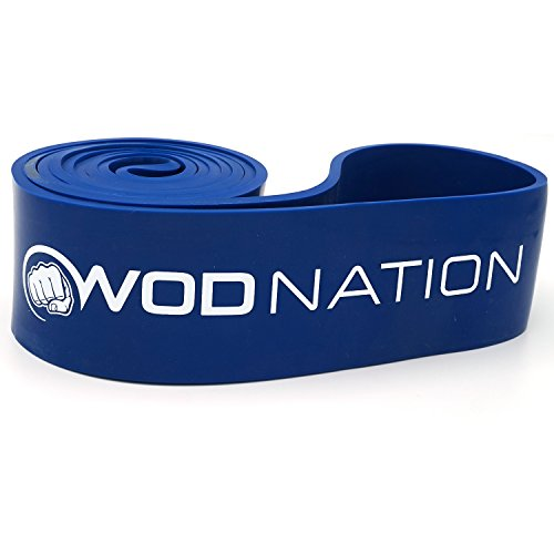 a122c06020 WOD Nation Pull up Assistance Bands Best for Pullup Assist, Chin Ups,  Resistance Band ...