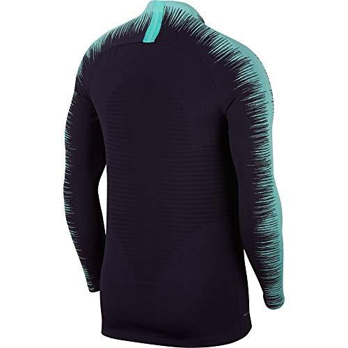 Purple À hyper T Turquoise Homme Pour Vaporknit shirt Strike Fc Manches Drill Nike Dynasty Longues Barcelona aA77q0