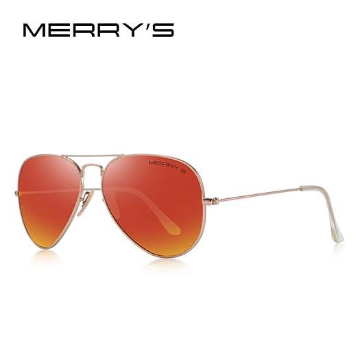 Yangjing-hl Hombre/Gafas de Sol polarizadas Classic Pilot ...