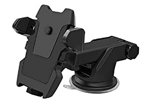 Cell Phone holder for Car, 360 degree rotating Universal Car mount phone holder for iphone X/8/8s 7 7 plus 6s Plus 6s 6 SE-Samsung Galaxy s8 plus s8 edge s7 s6 Note 8 5, Strong Suction Windshield Dashboard