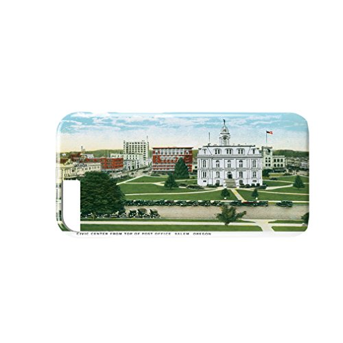 Civic Center From Post Office, Salem , Or 3D Full Coverage Phone Case iPhone - Salem The Center