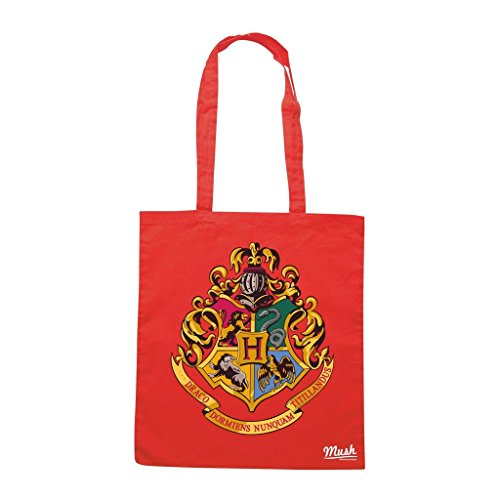 HARRY POTTER Rossa POTTE by Mush Dress Style LOGO Your HOGWARTS FILM STEMMA Borsa Adn6BxA