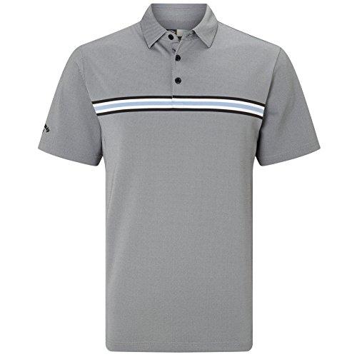 崩壊素晴らしき合理化Callaway Golf 2018メンズopti-driオックスフォードゴルフポロシャツ