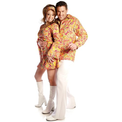 Groovy Shirt Costume - One Size - Chest Size 42-46 (Sexy Costumes For Guys)