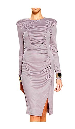 Unbekannt - Vestido - Opaco - para mujer Mauve