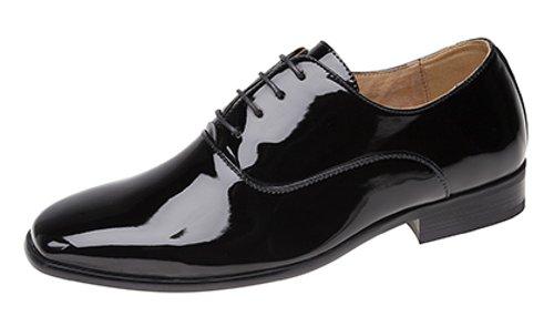 Hommes Soirée / Uniforme / Oxford chaussures Motif Noir