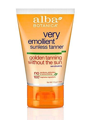 Loción de bronceado Golden Sunless Alba--4 fl oz
