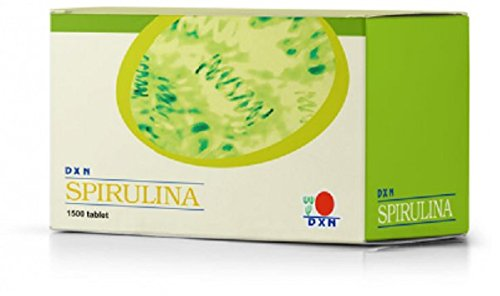 MUST BUY ! 4 Box DXN Spirulina Tablet 1500's ( Total : 6000 tablets x 250 mg ) by DXN