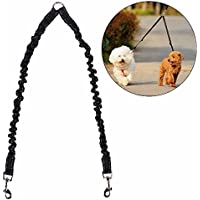 STGOOD No Tangle Pet Leash Double Dog Leash Coupler Walker Training Leash for Small Medium Dog - Two Dogs Leash Splitter…