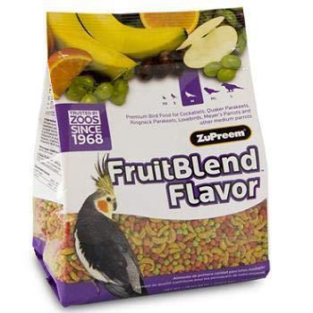 ZuPreem FruitBlend Premium Bird Diet for Medium Birds