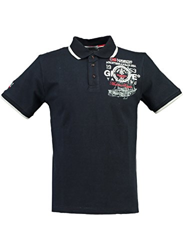 Marine Geographical Homme Polo Norway Kavigation TBBSZURf