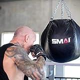 SMAI Elite85 Leather MMA Hybrid Sparring Gloves 7oz