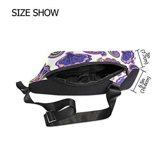 For Women Crossbody Backpack One Shoulder Bags Shells Chest Sling Bennigiry Bag Men Sea amp; xqpvATT