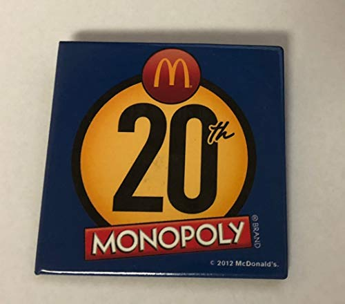 - McDonald's Monopoly 20th Pin