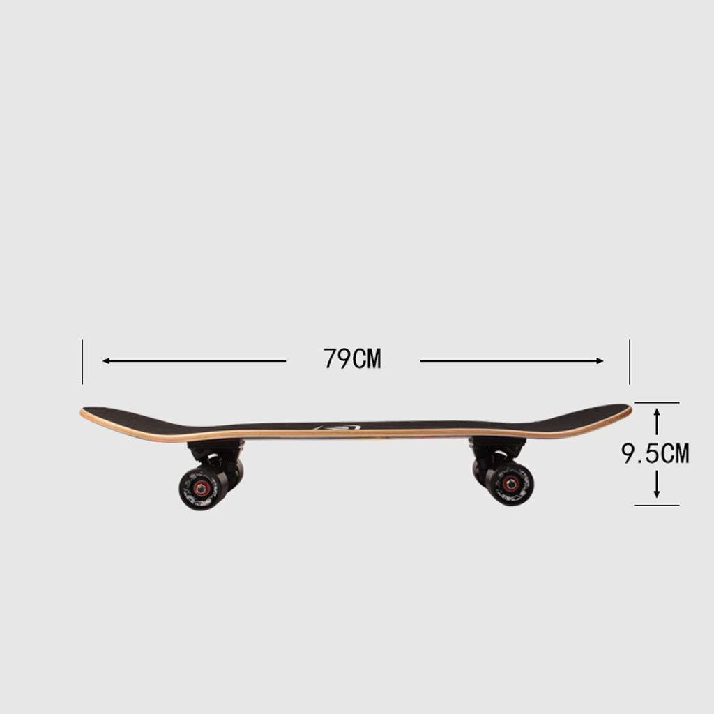 Principianti Principianti Principianti Professionale Skateboard a Quattro Ruote Adolescenti Adulti Bambini Ragazzi e Ragazze Abilità in Strada (Coloreee   Bird) B07KG6FFGK Bird | Costi Moderati  | Regalo ideale per tutte le occasioni  | Ordini Sono Benvenuti  | Lo stile  ec848b