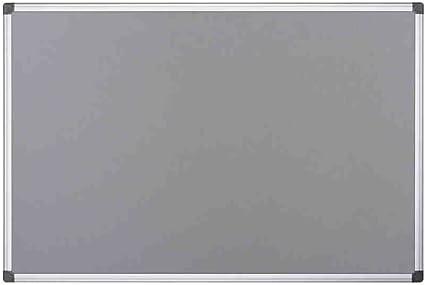 Bi-Office Tableau dAffichage en Feutre Bordeaux Maya 60x45 cm Cadre en Aluminium