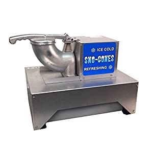 Paragon Port-A-Blast Sno Cone Machine for Professional Concessionaires Requiring Commercial Heavy Duty Snow Cone Equipment 1/3 Horse Power 792 Watts