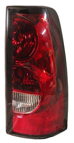 3500 Rear Right Brake (Chevy Pickup Truck 04-07 Taillight - Right Brake Rear Lens & Housing)