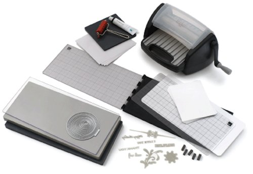 QUICKUTZ We R Memory Keepers Letterpress Combo Kit, with Epic 6 Tool
