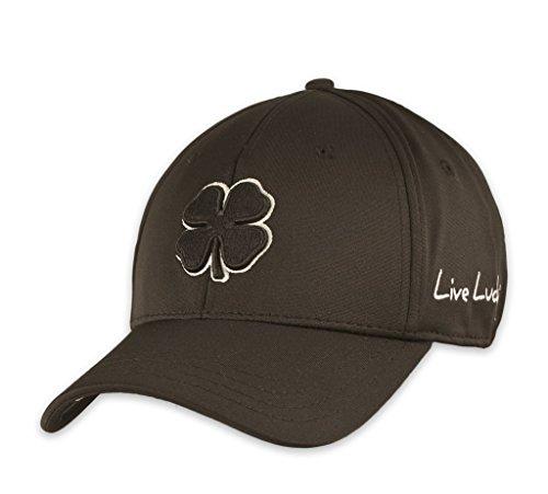 UPC 655257838830, Black Clover LIVE LUCKY Premium Fitted Golf Cap Hat (S/M, Black)