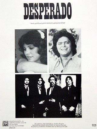 Desperado (Piano/Vocal/Chords, Sheet (Desperado Piano Music)