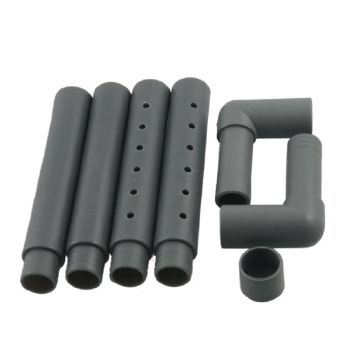 uxcell Aquarium Fish Tank Rain Bar Unit Outflow Gray Pipe Hose 13mmx19mm by uxcell
