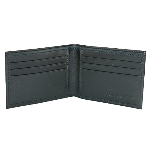 Italian Wallet CrookhornDavis Men's Black Leather Calfskin Men's Vachetta CrookhornDavis Bifold HtOOq8C