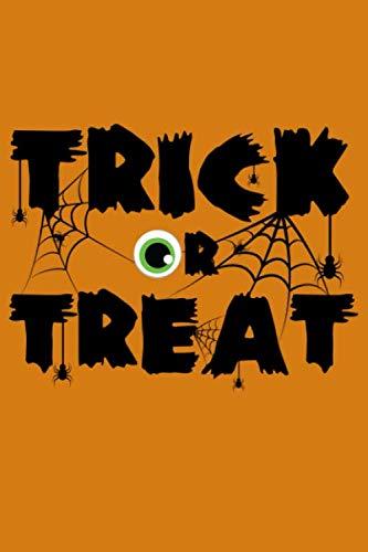 Eyeballs Costumes - Journal: Trick or Treat Halloween Spooky