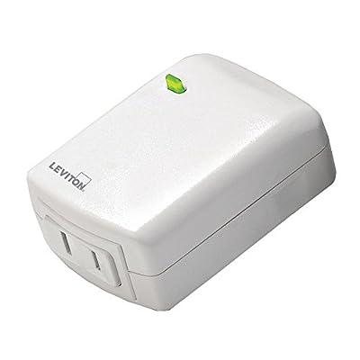 Leviton Decora Smart Plug, Z-Wave, Lamp Dimming, 300-Watt LED/CFL Compatible, Works with Alexa