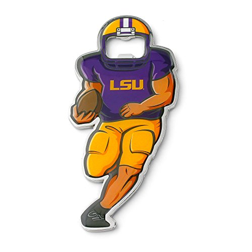 NCAA LSU Tigers Player Bottle Opener Magnet