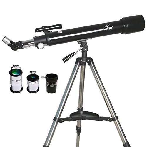 Gskyer Telescope,AZ70700 German Technology Telescope,Instruments Infinity Refractor