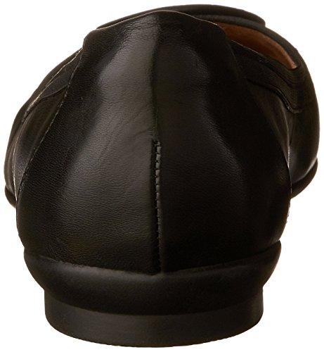 Causal Leather Black Women's Clarks Candra Blush Flat wYgAOq