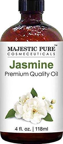(Majestic Pure Jasmine Fragrance Oil, Premium Quality, 4 fl. oz.)