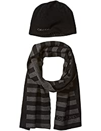 Men's Hat and Scarf Set